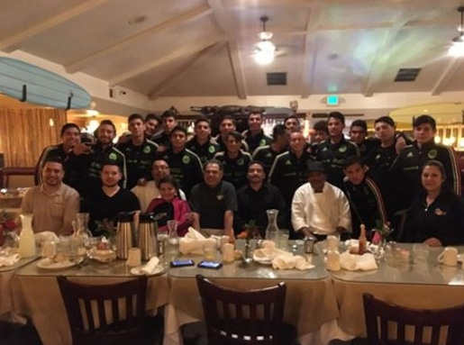 Cody's Cafe Welcomes Mexican National Soccer Team