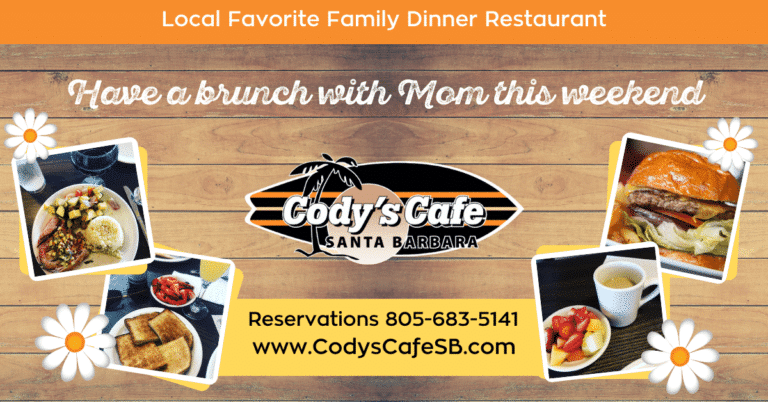 Happy Mother's Day From Cody's Cafe!
