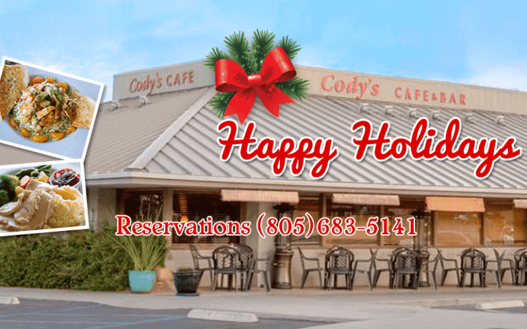 Happy Holidays From Your Favorite Family Restaurant