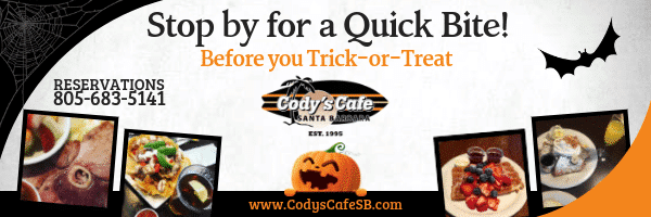 Halloween Dinner At Cody's Cafe