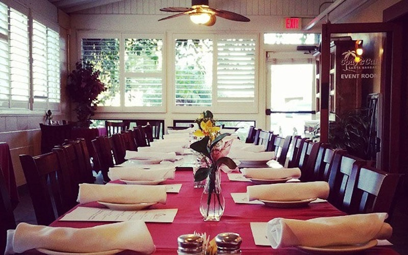 Private Room booking in restaurant