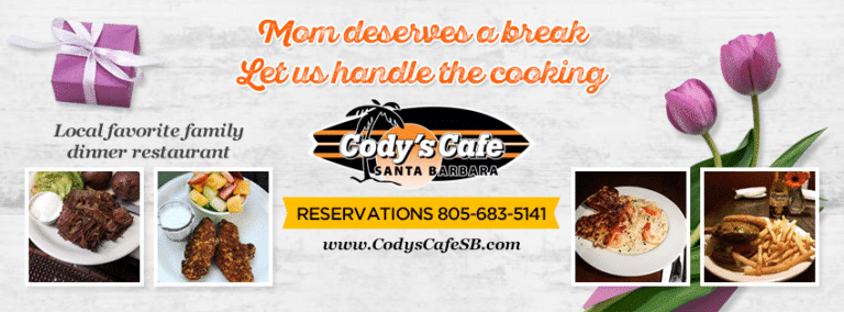 Bring Mom To Cody's Cafe For Mother's Day